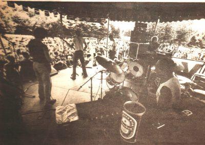 Ondergeniepig at New Pop Rotterdam 1980