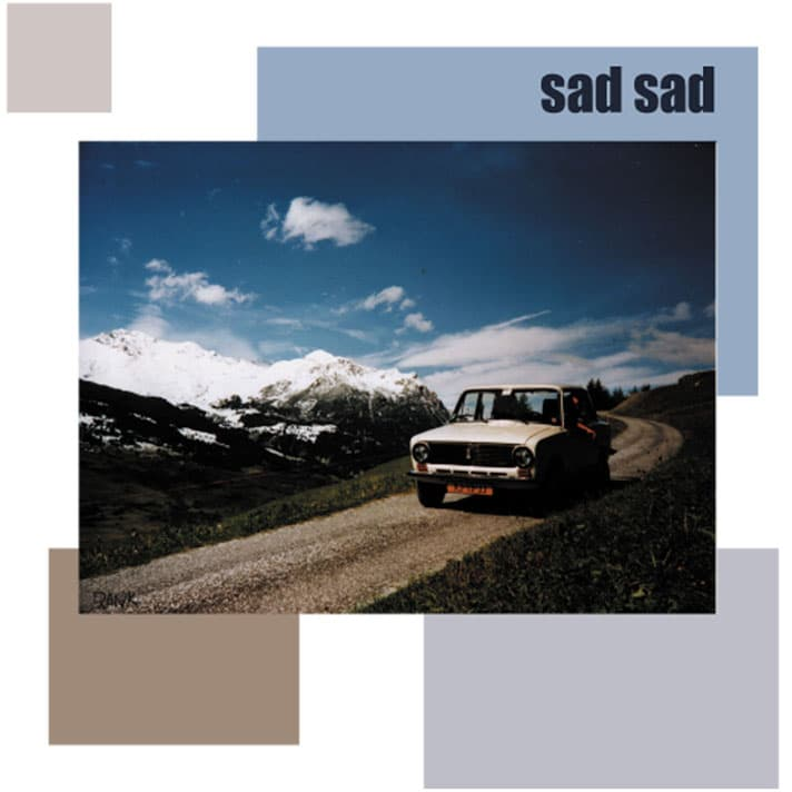 CD cover Sad Sad